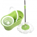 Home Pleasure Pro Clean 2 in 1 Spin MOP 360 Derajat Alat Pel - Hijau